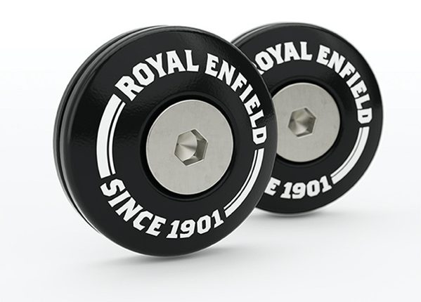 Cool Machined Bar End Finisher Kit Royal enfield
