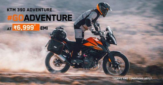 KTM 390 Adventure @ 6999 EMI (2)