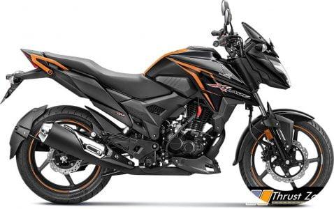 pearl-igneous-black- 2020 BS6 Honda X-Blade