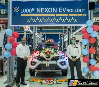 1000 Tata Nexon EV