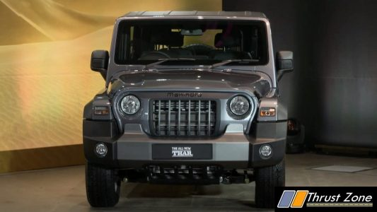 Brand New Mahindra Thar BS6 Revealed (4)