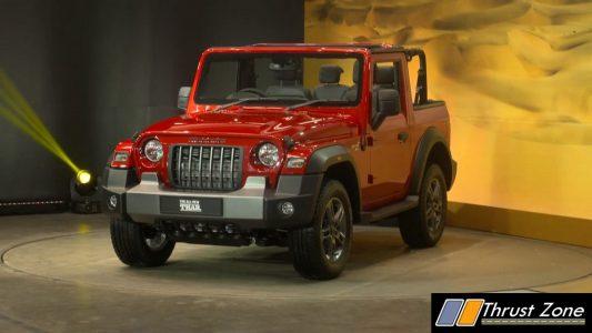 Brand New Mahindra Thar BS6 Revealed (6)