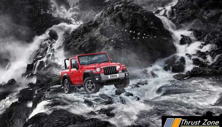 FINALLY! Brand New Mahindra Thar Revealed (2)