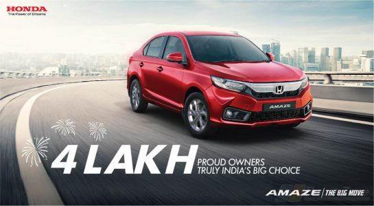 Honda Amaze Sales