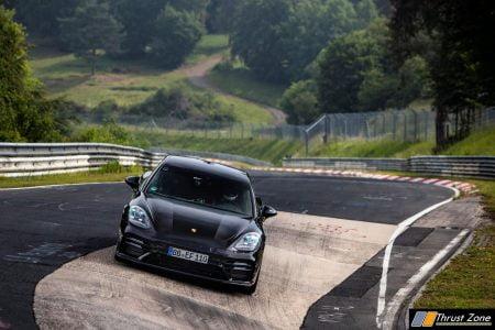 Porsche Panamera, Rekordfahrt Nordschleife 2020 - Foto: Gruppe C Photography