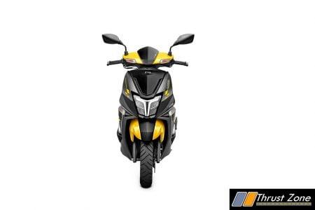 TVS NTORQ 125 Race Edition Yellow & Black