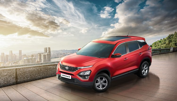 2020 Tata Harrier XT+ Launched With Panoramic Sunroof (2)
