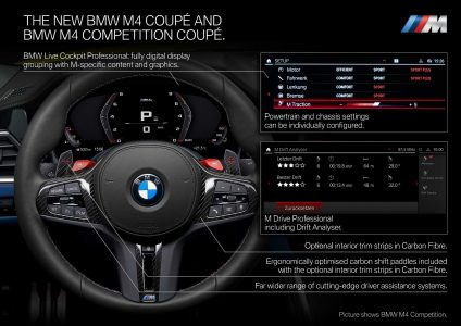 2021 BMW M3 Sedan and new BMW M4 Coupé Revealed (6)
