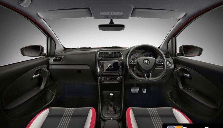 SKODA RAPID Interior automatic bs6 1.0 TSi