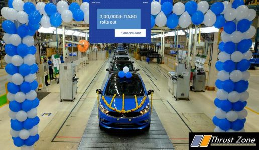 Tata Motors Tiago Hits The 3 Lakh Roll Out Milestone