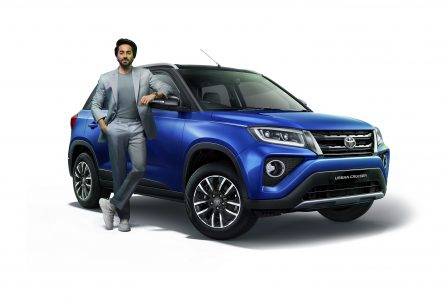 Toyota Kirloskar Motor launches its much-awaited compact SUV in India, the all-new Toyota Urban Cruiser - 2