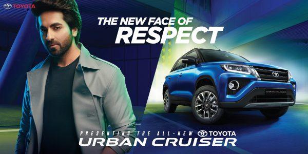 Toyota Urban Cruiser Brand Ambassador Is Ayushmann Khurrana