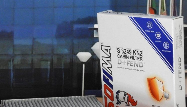 UFI Filters Sofima D+Fend Anti-Virus Cabin Air Filter Launched In India (1)