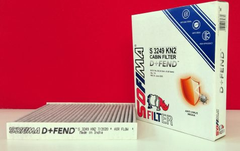 UFI Filters Sofima D+Fend Anti-Virus Cabin Air Filter Launched In India (2)
