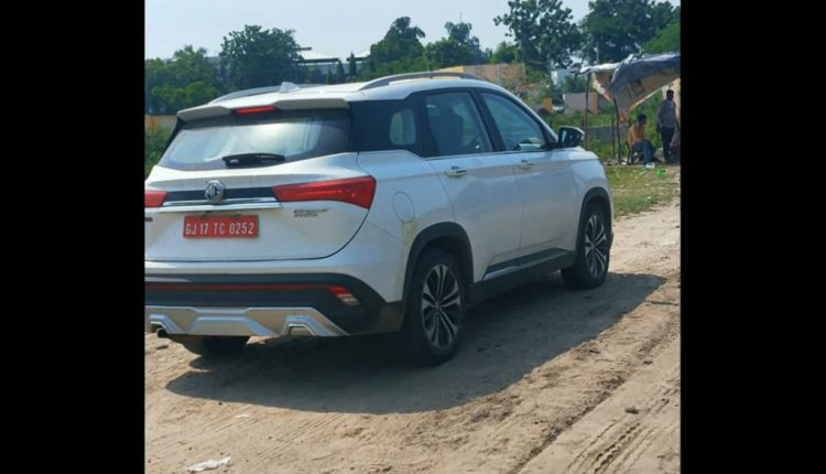 2021 MG Hector Facelift (2)