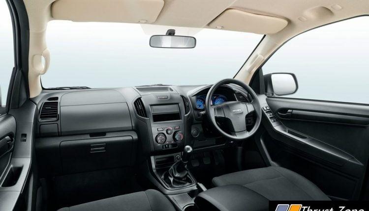 BS6 2020 Isuzu D-Max S-Cab_Interior
