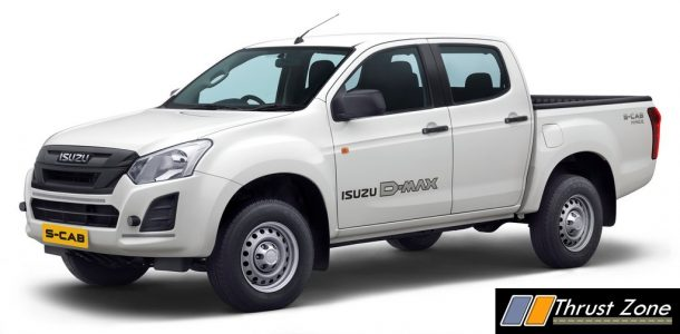 BS6 2020 Isuzu D-Max S-Cab_Rear