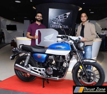 Honda 2Wheelers India commences customer deliveries of H'ness CB350