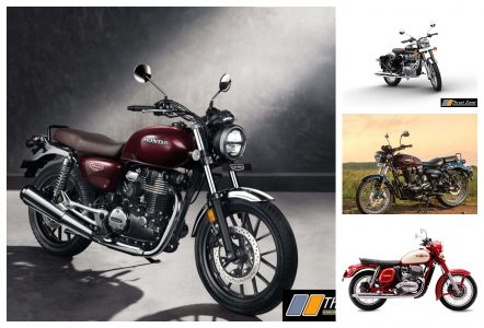 Honda CB350 vs Classic 350 vs Imperiale 400 vs Jawa 300 - Specification Comparison
