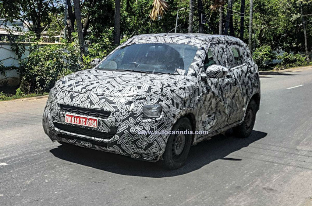 Made-in-India Citroen Subcompact SUV Caught Testing For The First Time (1)