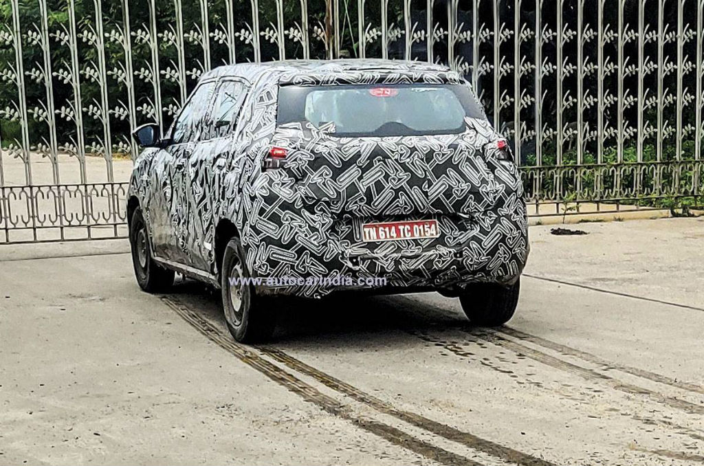 Made-in-India Citroen Subcompact SUV Caught Testing For The First Time (2)