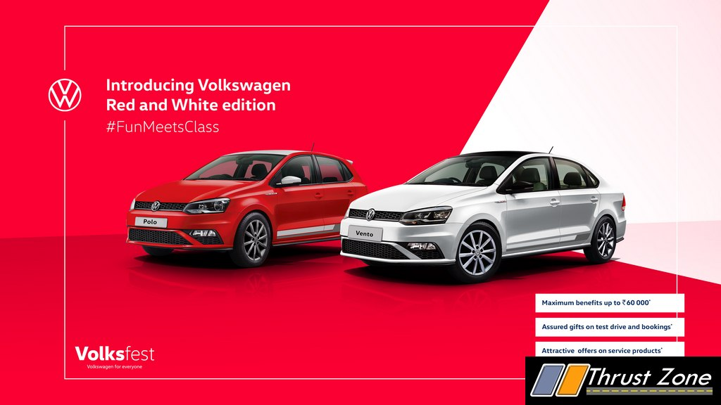 VW Polo and Vento Red & White Special Edition (4)