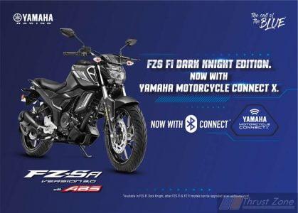 Yamaha FZS FI Dark Knight with Connect X