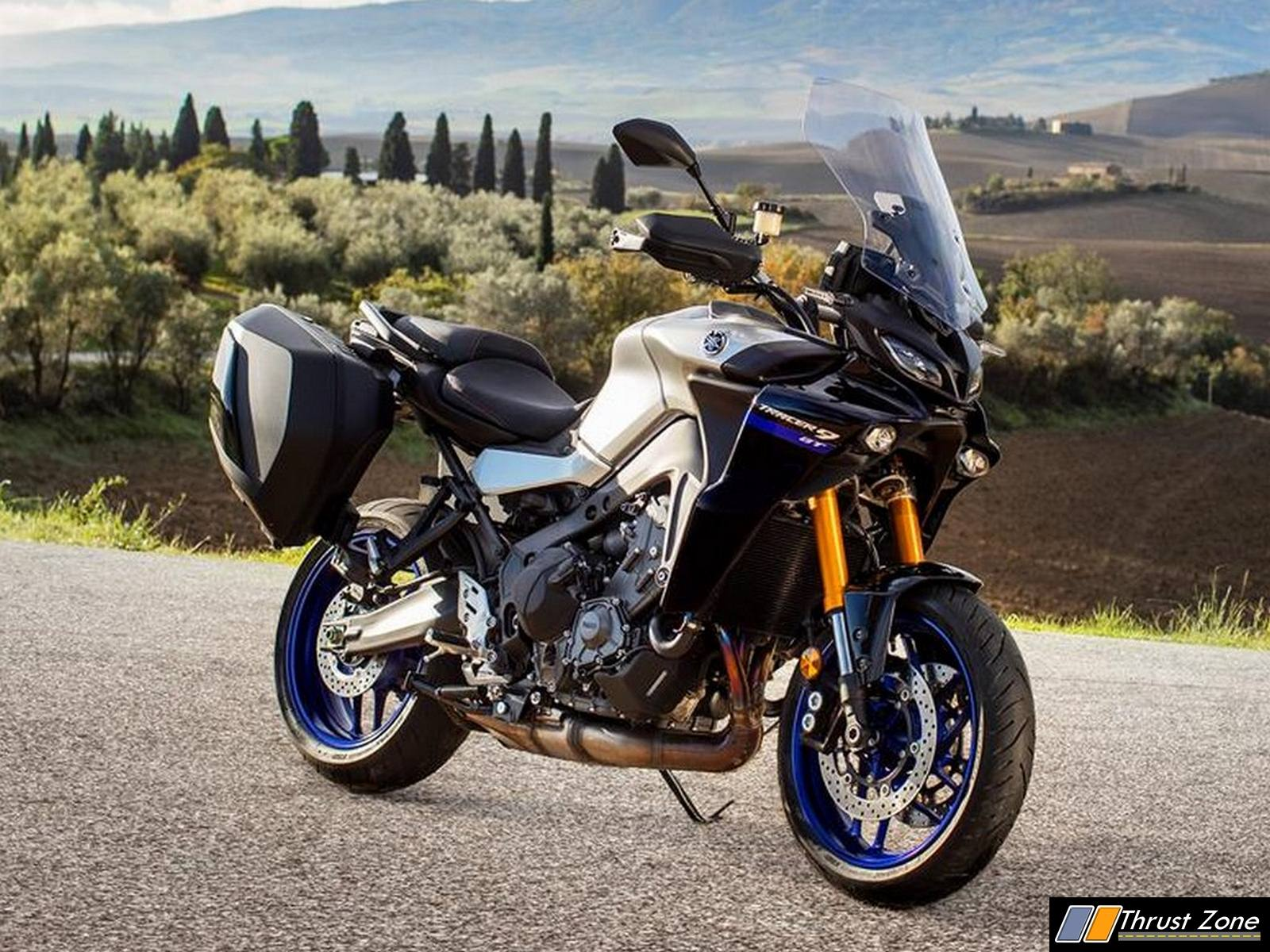 2021-Yamaha-Tracer-9-GT-Front