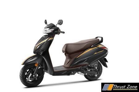 Activa 6G 20th Year Anniversary Edition - Pearl Nightstar Black