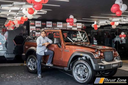All-New Mahindra Thar Auction Winner - Picture 02