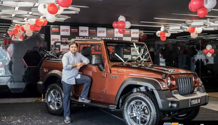 All-New Mahindra Thar Auction Winner – Picture 02
