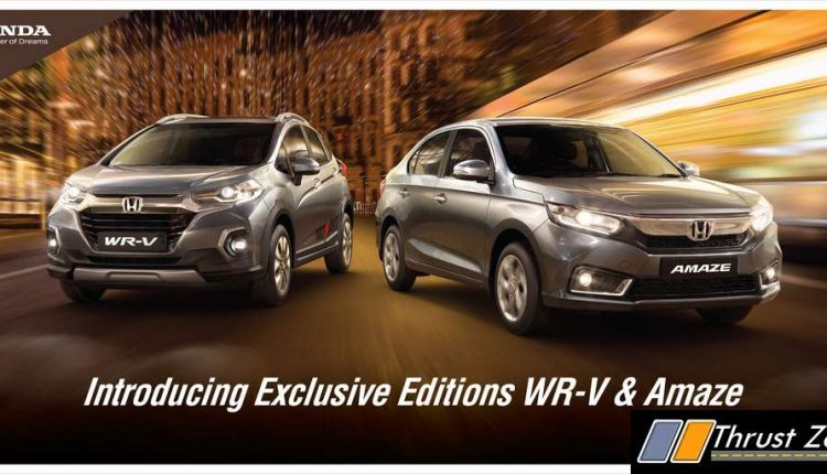 Exclusive Editions_Amaze & WR-V