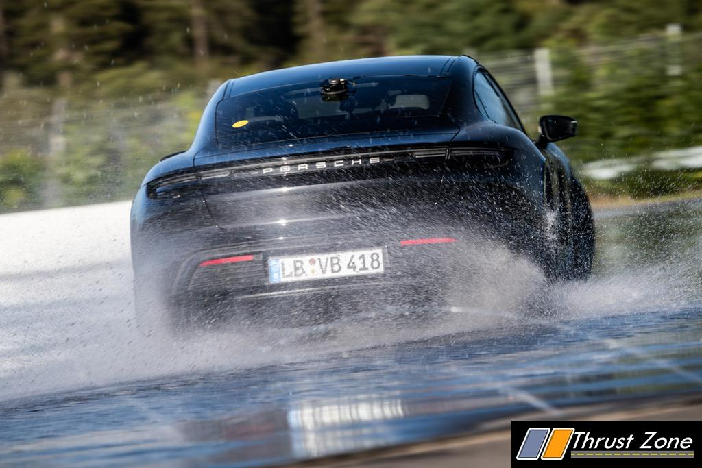 First Ever Electric Car Drift Record Set With Porsche Taycan (2)