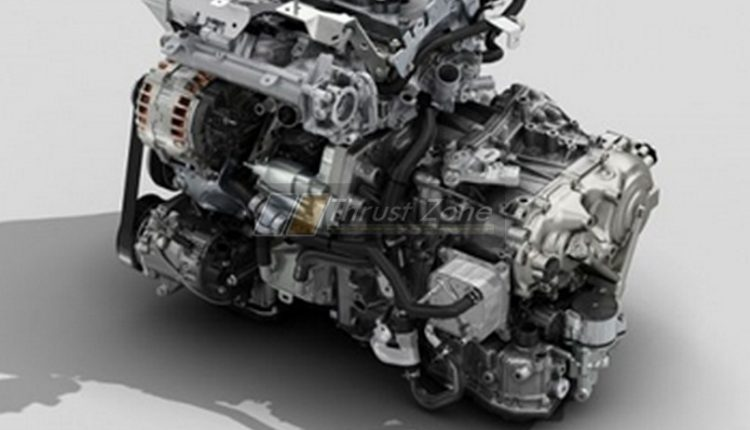 Nissan Magnite HRA0 CVT