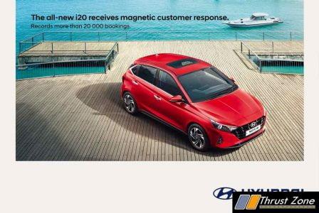 Hyundai i20 bookings
