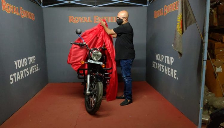 Royal Enfield Delivers 1200 Motorcycle