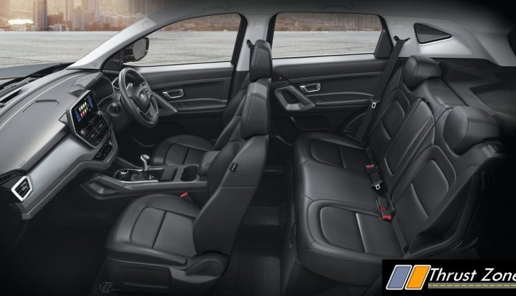 Tata Harrier CAMO Interior