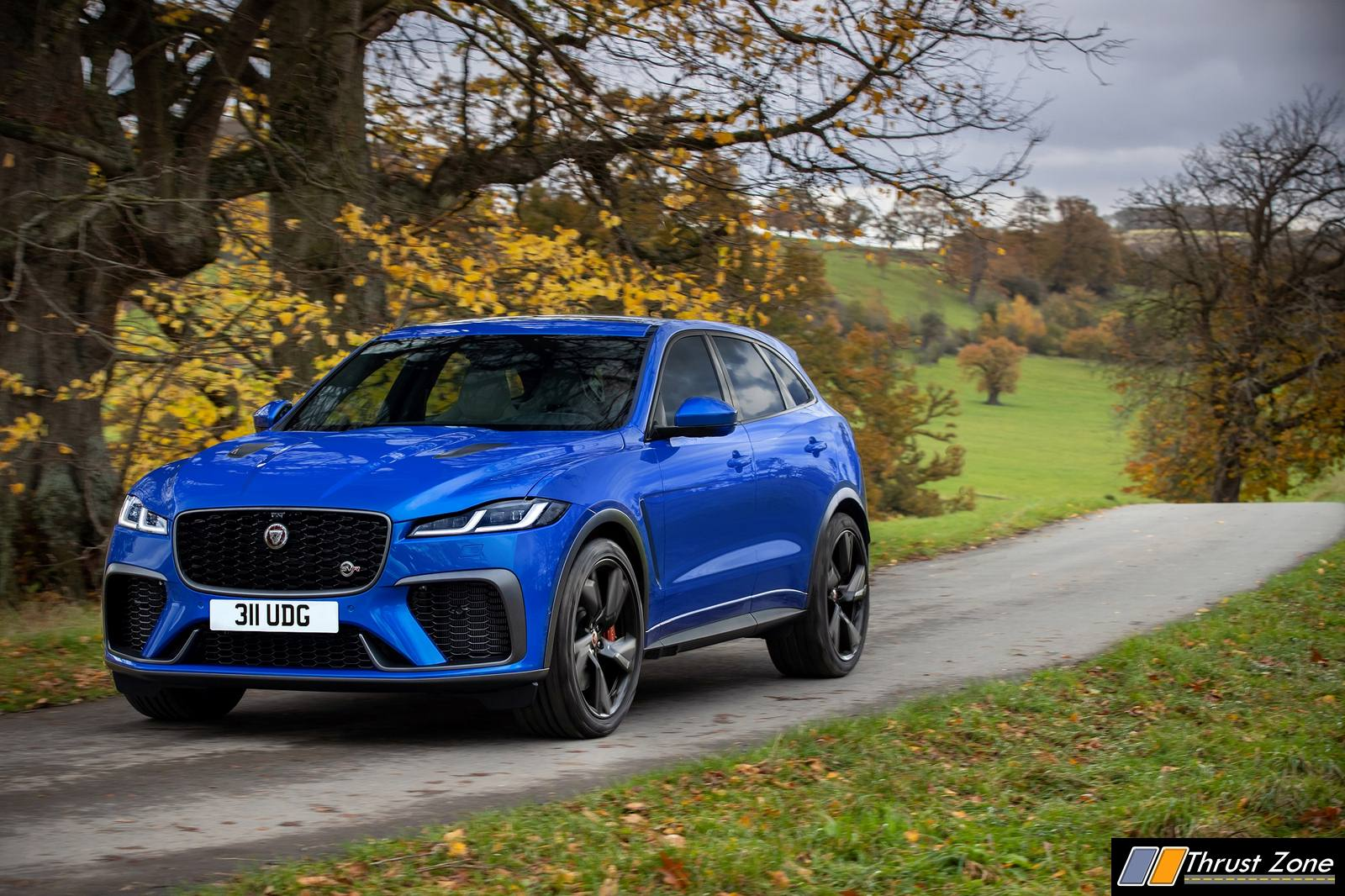 2021 New Jaguar F-PACE SVR Revealed! (1)