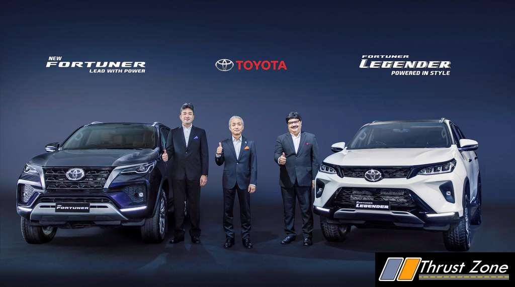 2021 Toyota Fortuner Facelift and Fortuner Legender (1)