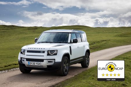 5 Star Safety Rating For Land Rover Defender From Euro NCAP