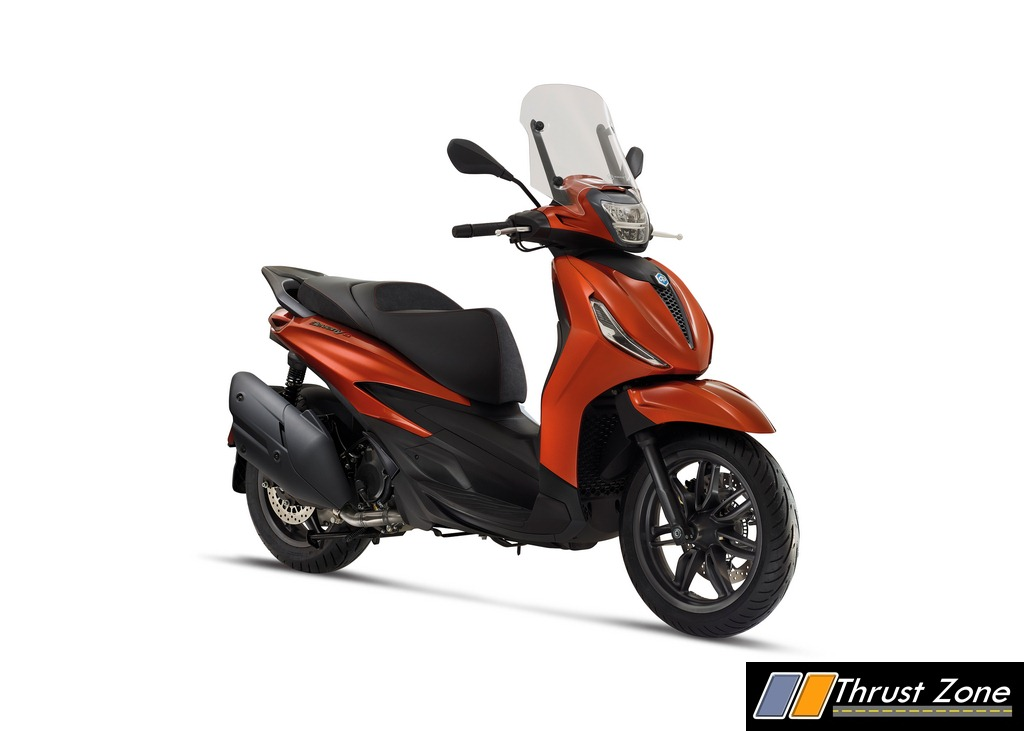 All New Piaggio Beverly Scooter (2)