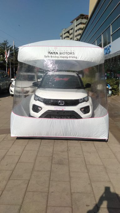 COVID Effect Tata Motors Begins Car Deliveries In New Safety Bubble (2)