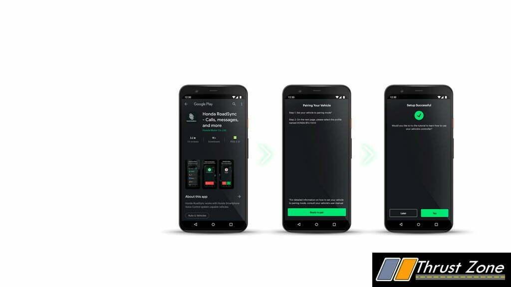 Honda RoadSync App And Smartphone Voice Control System (4)