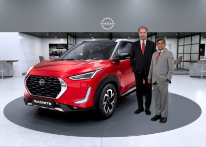 Nissan President & MD with the all-new Nissan Magnite