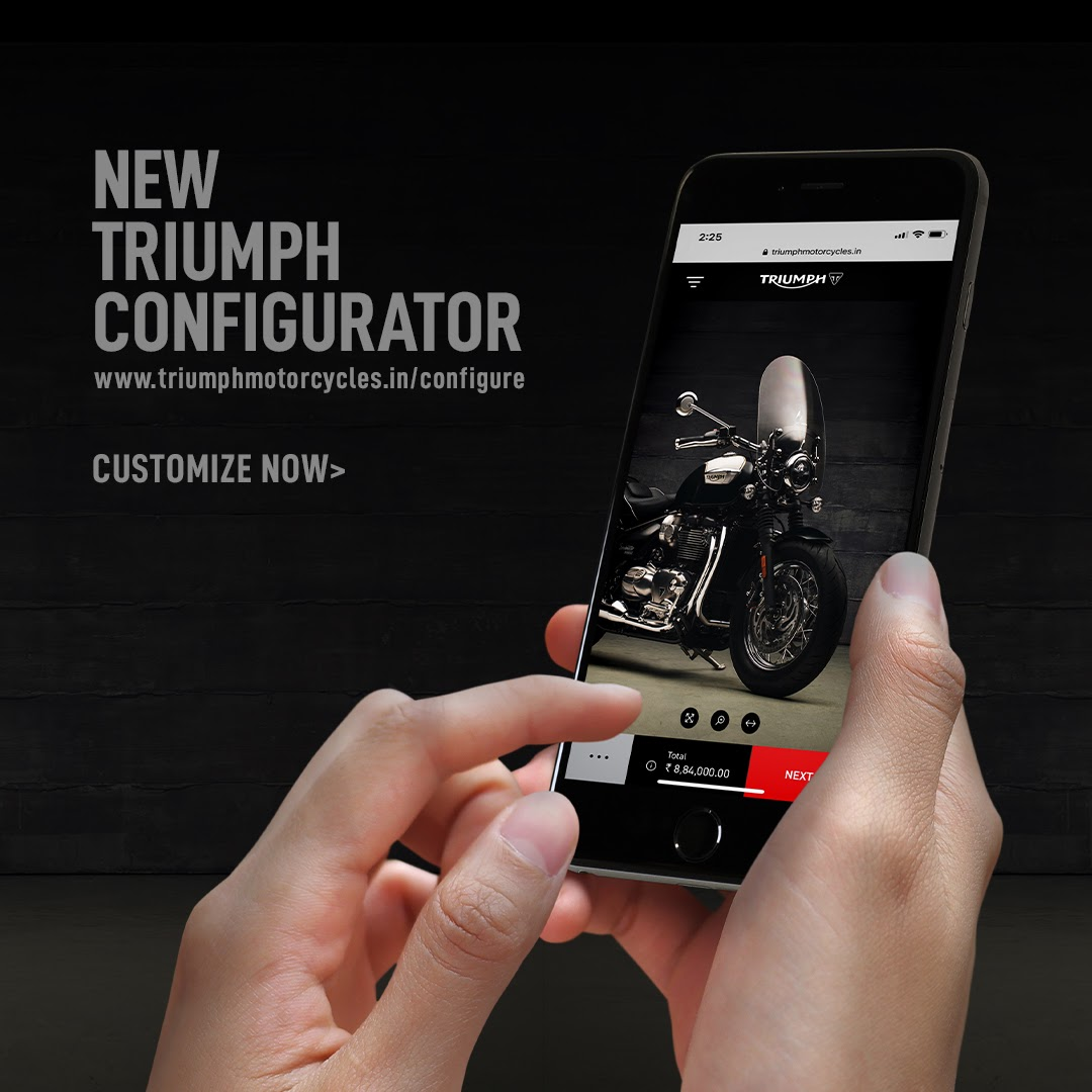 Triumph Motorcycles Improved Customization (1)