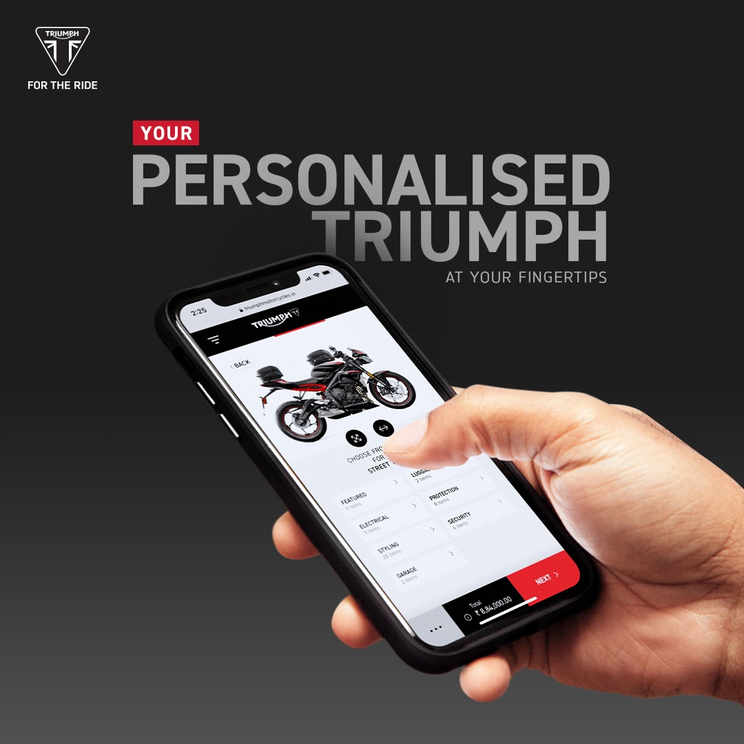 Triumph Motorcycles Improved Customization (2)