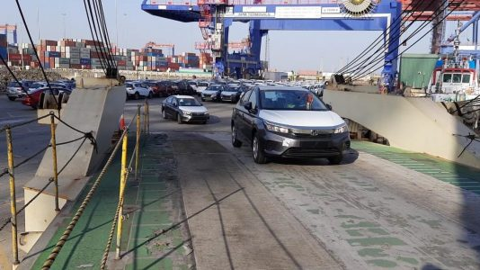 Export of Honda City to Left Hand Drive countries from India 1