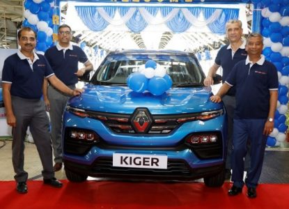 Renault Kiger SUV Ready For Launch