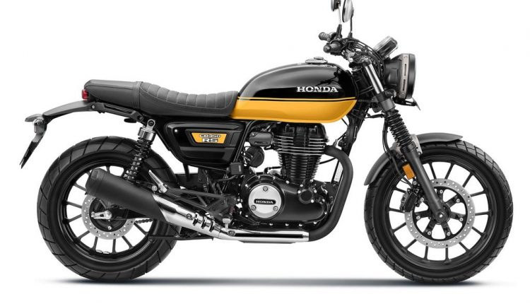 2021 Honda CB350 RS_Black with Pearl Sports Yellow (1)