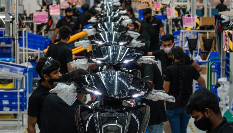 Ather Energy Factory, Hosur – Vehicle Assembly Line